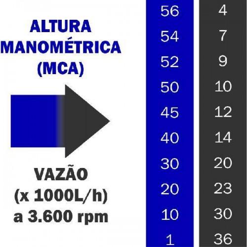 MOTOBOMBA GASOLINA BUFFALO BFG 2 1/2 X 2 CENTRIFUGA 6,5 CV 56 MCA